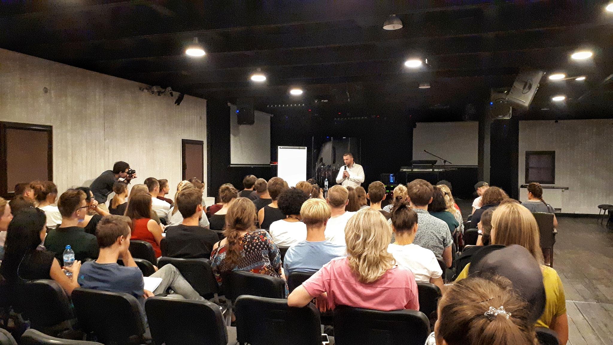 Wystąpienie Tomasza Palaka na konferencji