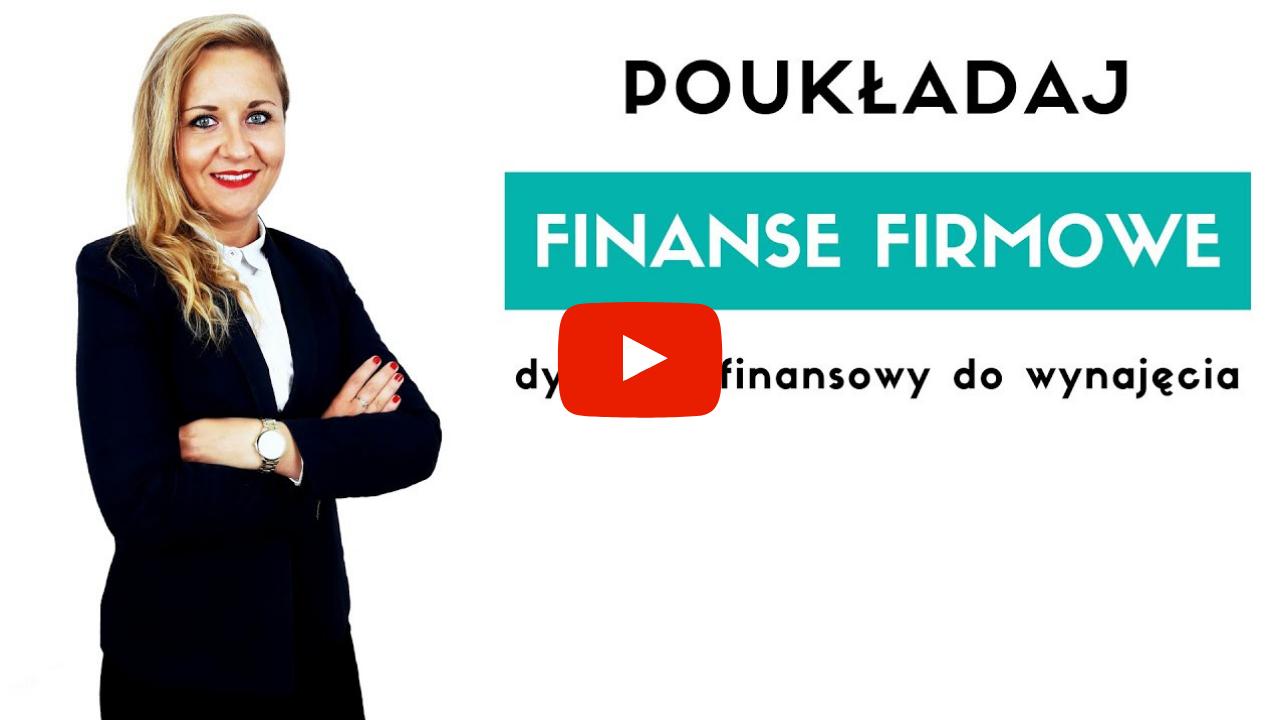 Video na YouTube o dyrektorze finansowym do wynajęcia