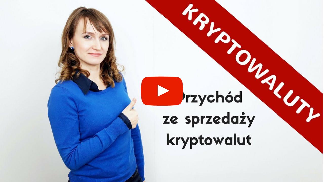 Video na YouTube o przychodzie ze sprzedaży kryptowalut