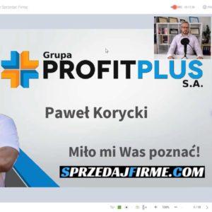 Nagranie z webinaru - Jak korzystnie sprzedać firmę (www.sprzedajfirme.com)